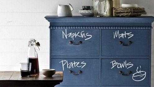 Chalkboard Paint DIY - Dresser