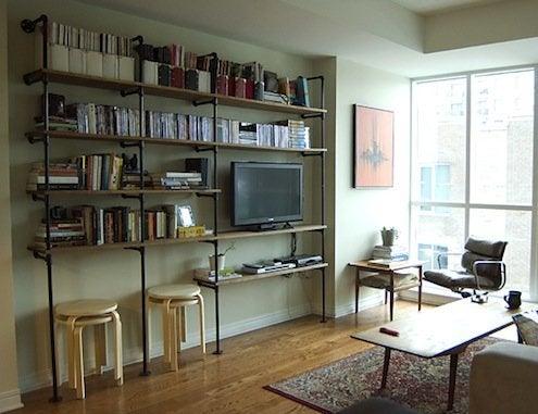 DIY Shelves - Pipe Fittings