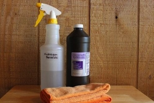 How to Clean Slate - Hydrogen Peroxide Cleaning Solution