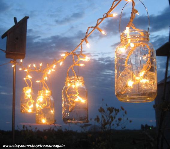 String Lights DIY - Lanterns
