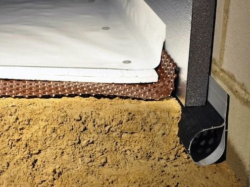 Insulating Crawl Space - Bob Vila on mobile home registers, mobile home underlayment, mobile home locks, mobile home hvac ducting, mobile home heating, mobile home furnace roof jack, mobile home pipes, mobile home drains, mobile home fans, mobile home borders, mobile home vent covers, mobile home air diffusers, mobile home grates,