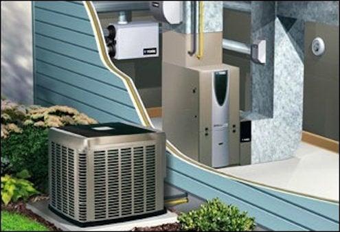 Hybrid Heat Pump Systems - Illustration