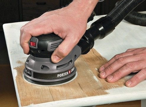 How to Remove Varnish   Random Orbit Sander. How to Remove Varnish and Other Wood Finishes   Bob Vila