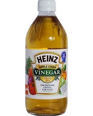bottle of Heinz apple cider vinegar