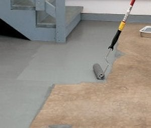 painting basement floor