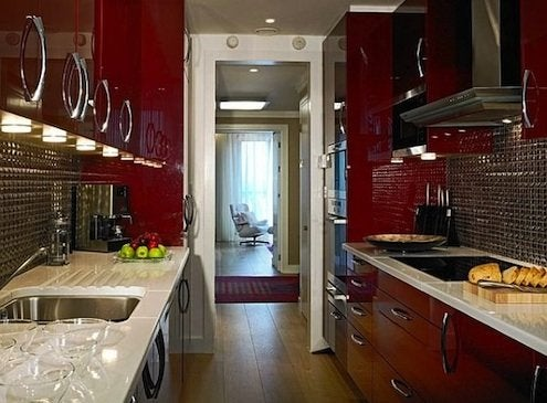 Red Decor - Cabinets