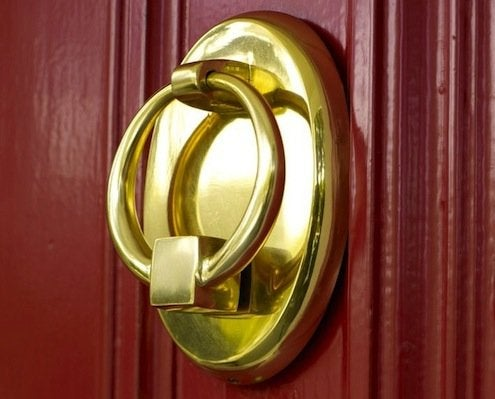 How to Clean Brass - Door Knocker