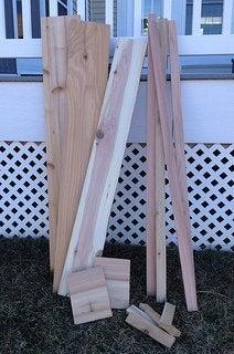 How to Make a Deck Rail Planter - Cedar Boards