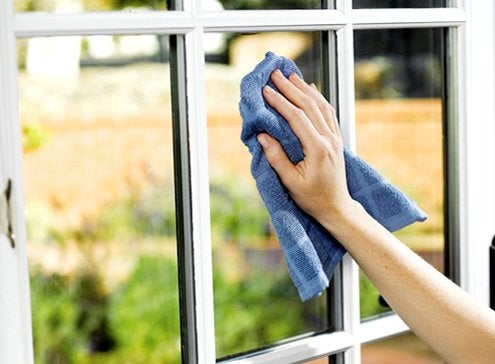How to clean windows bob vila for Window washing