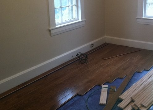 Prefinished Or Unfinished Wood Flooring Installation