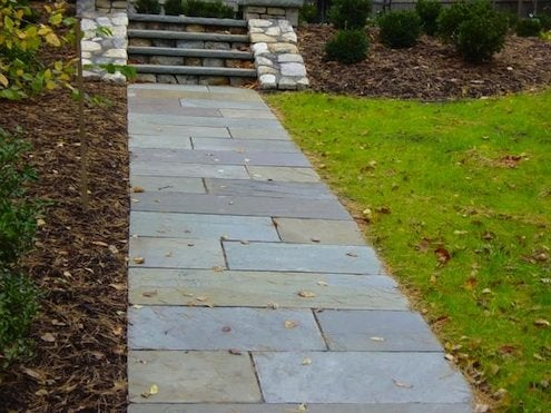 How To Build A Stone Walkway Bob Vila