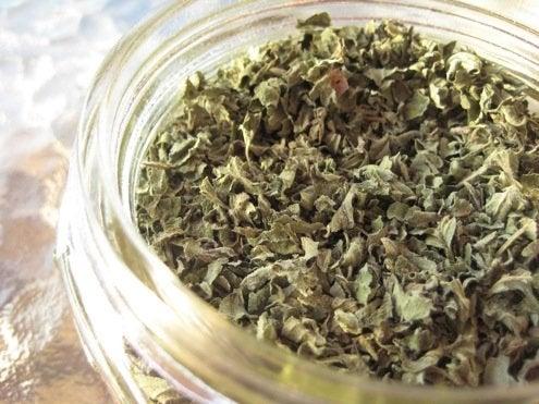 Drying Herbs - Jar