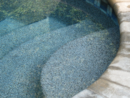 Pool Resurfacing - Pebble Plaster Blend