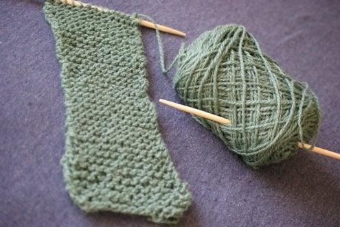 Repurpose Chopsticks - Knitting Needles