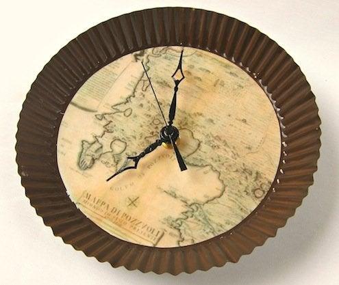 Map DIY - clock