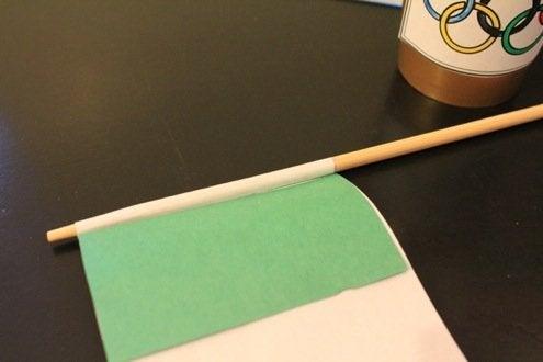 Repurpose Chopsticks - Mini Flags