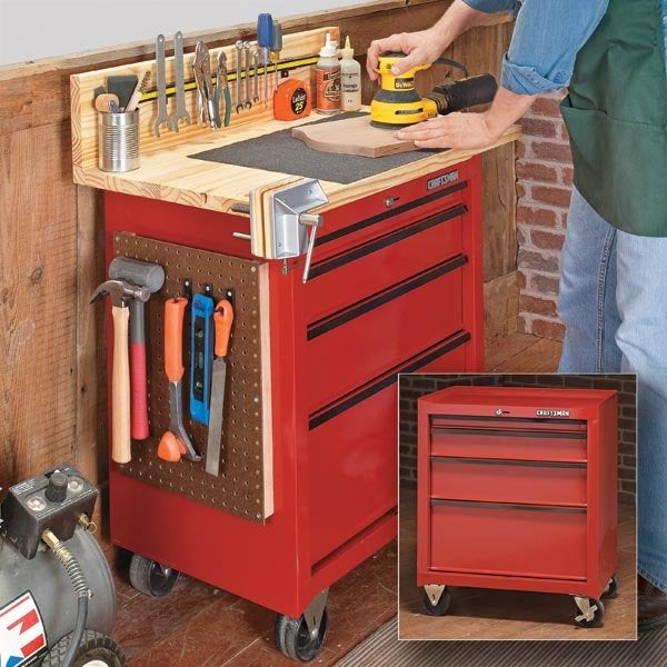 Workbench Plans - DIY Workbench from Woodsmith Magazine