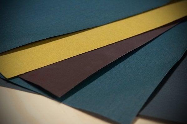 Storing Sandpaper - Folders