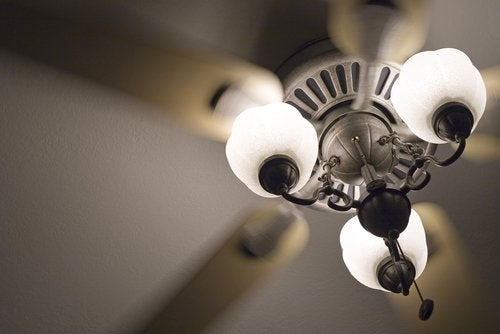 Cleaning Ceiling Fans - Fan Lights