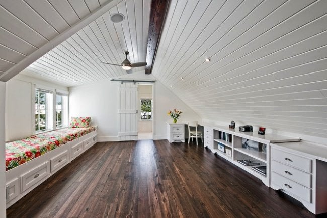 Attic renovation planning guide bob vila attic conversion family room solutioingenieria Images