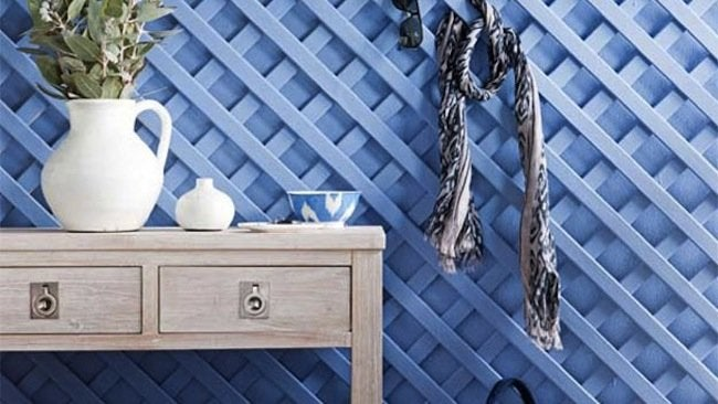 Lattice DIY Projects - Wall Treatment