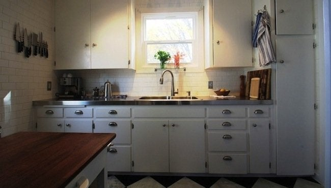 DIY Countertops - Stainless Steel