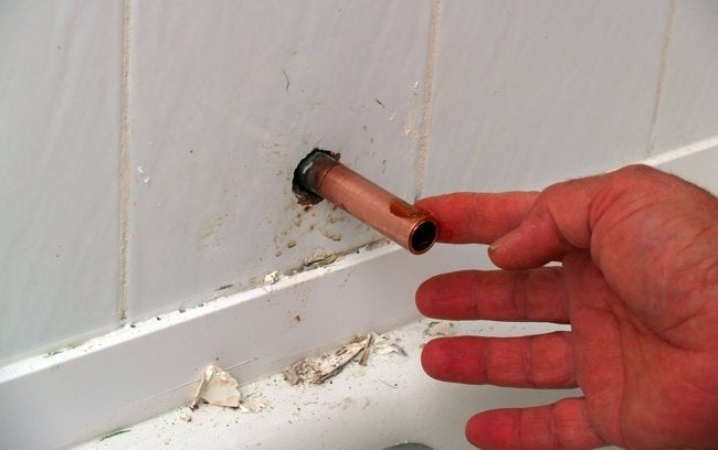 How to Replace a Tub Spout - Step 5