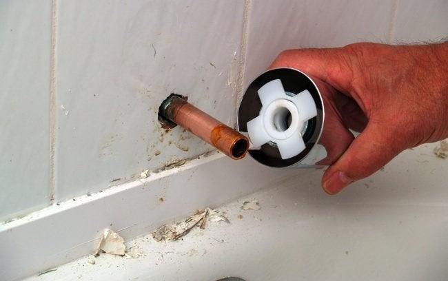 How to Replace a Tub Spout - Step 6