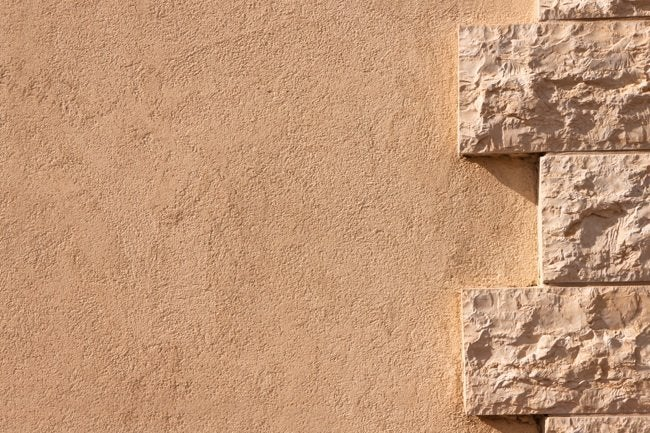 Stucco 101 bob vila for How to install stone veneer over stucco