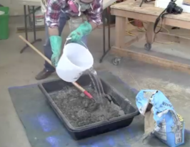 Lesson 2 pouring concrete