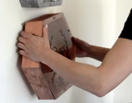 Mounting coin vault to the wall