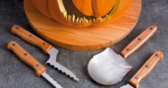 Professional pumpkin carving tools 1