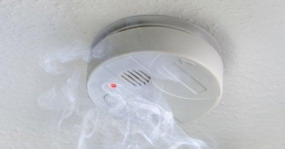 Smoke detector cover image