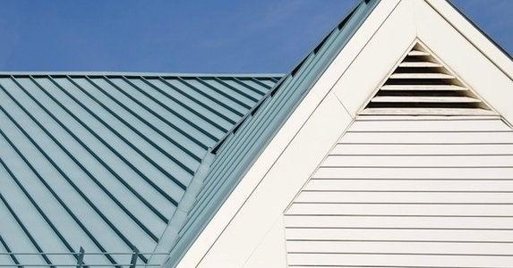 Metal roofs shutterstock