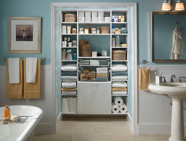 12 Easy Ways to Boost Bathroom Storage
