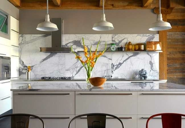 Backsplash ideas for a unique kitchen bob vila for Cool ideas for backsplash