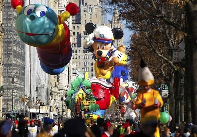 Macy's Day Parade: A Bird's Eye View