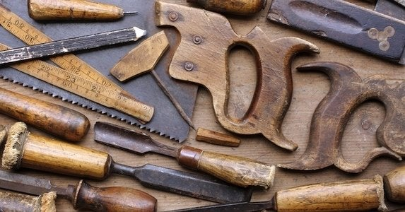 Antique tools shutterstock.com