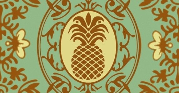Pineapple motif thehindsleys