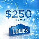 Lowes giveaway