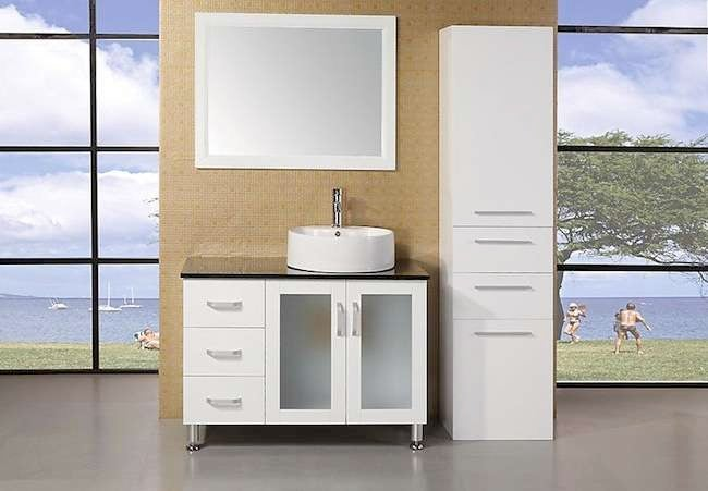 7 (Very) Different Looks for Bathroom Vanities