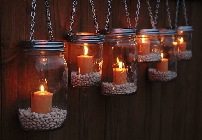 9 Easy-to-Make Garden Luminaries