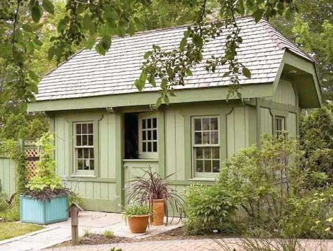 Garden Sheds Ideas garden shed with covered seating area Shed Ideas Designs For Every Budget Bob Vila