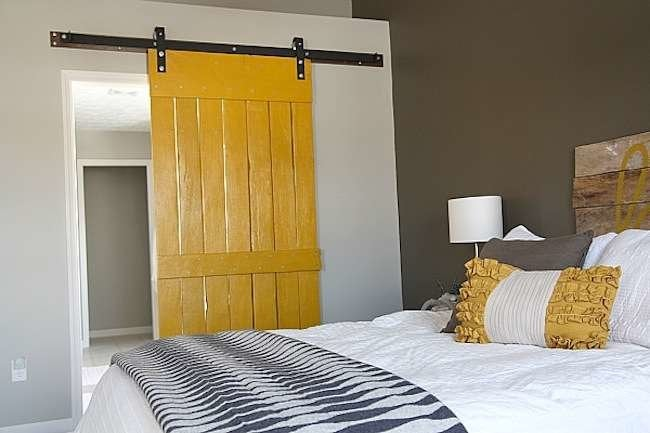 barn door ideas 10 home design inspirations bob vila. Black Bedroom Furniture Sets. Home Design Ideas