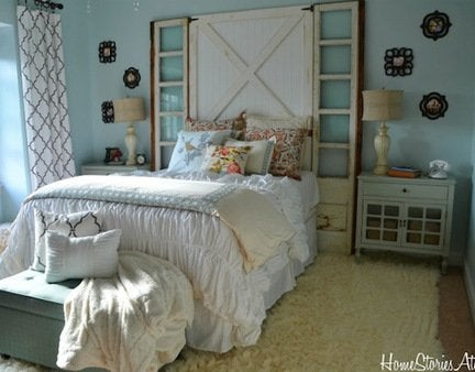 Diy_barn_door_headboard_update