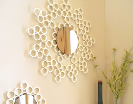 Diy-pvc-pipe-mirror