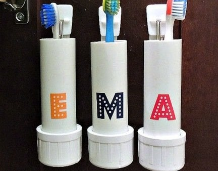 Pvc-toothbrush-holders