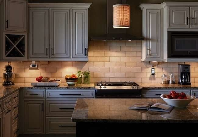 Under cabinet lighting 10 shining examples bob vila under cabinet lighting 10 shining examples mozeypictures Gallery