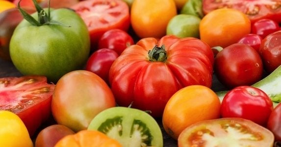 Heirloom tomatoes shutterstock