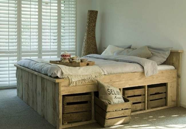 sweet dreams 15 inventive beds you can make yourself - Enclosed Bed Frame